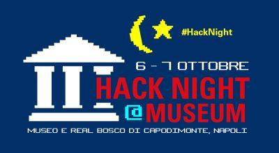 Il futuro del digitale si programma nella tradizione. Le sale del Museo di Capodimonte ospitano #Hacknight2018